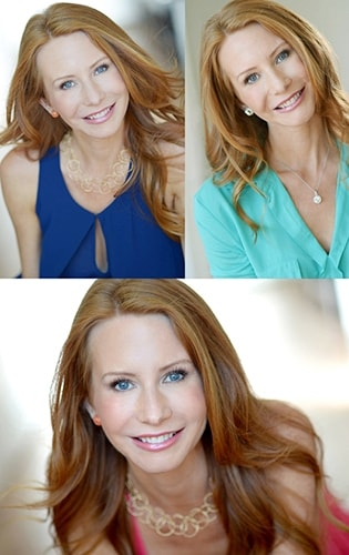 Redhead female actress