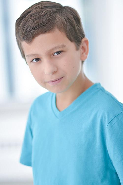 Male kids headshot
