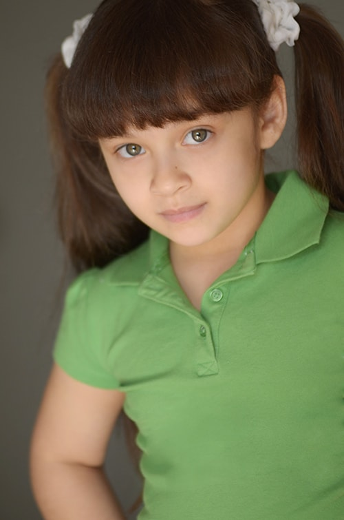 Teen actor headshot