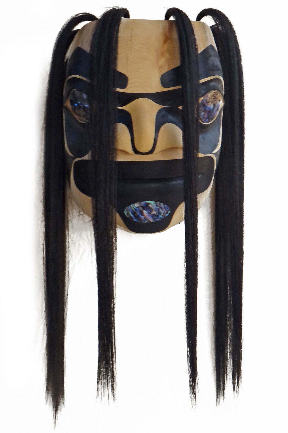 Raven Woman Mask by James Johnson
