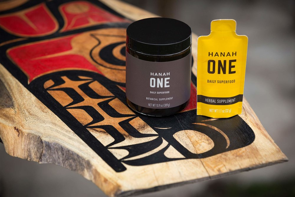 Thank you Hanah for keeping us going!  Daily Essentials for your health (Click their logo on our site) / photo: Ian Tetzner