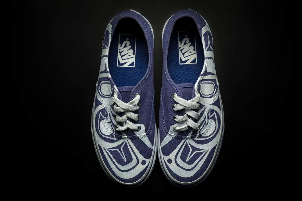 Custom Vans Authentics by James / photo: Ian Tetzner