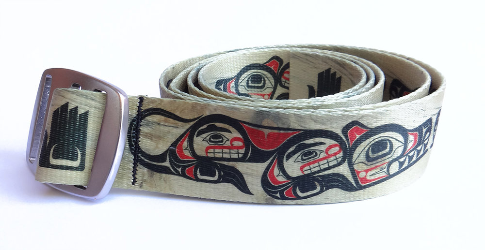 Croakies N-Grained Inc. A2 Wolf Belt (Click Here to Purchase)