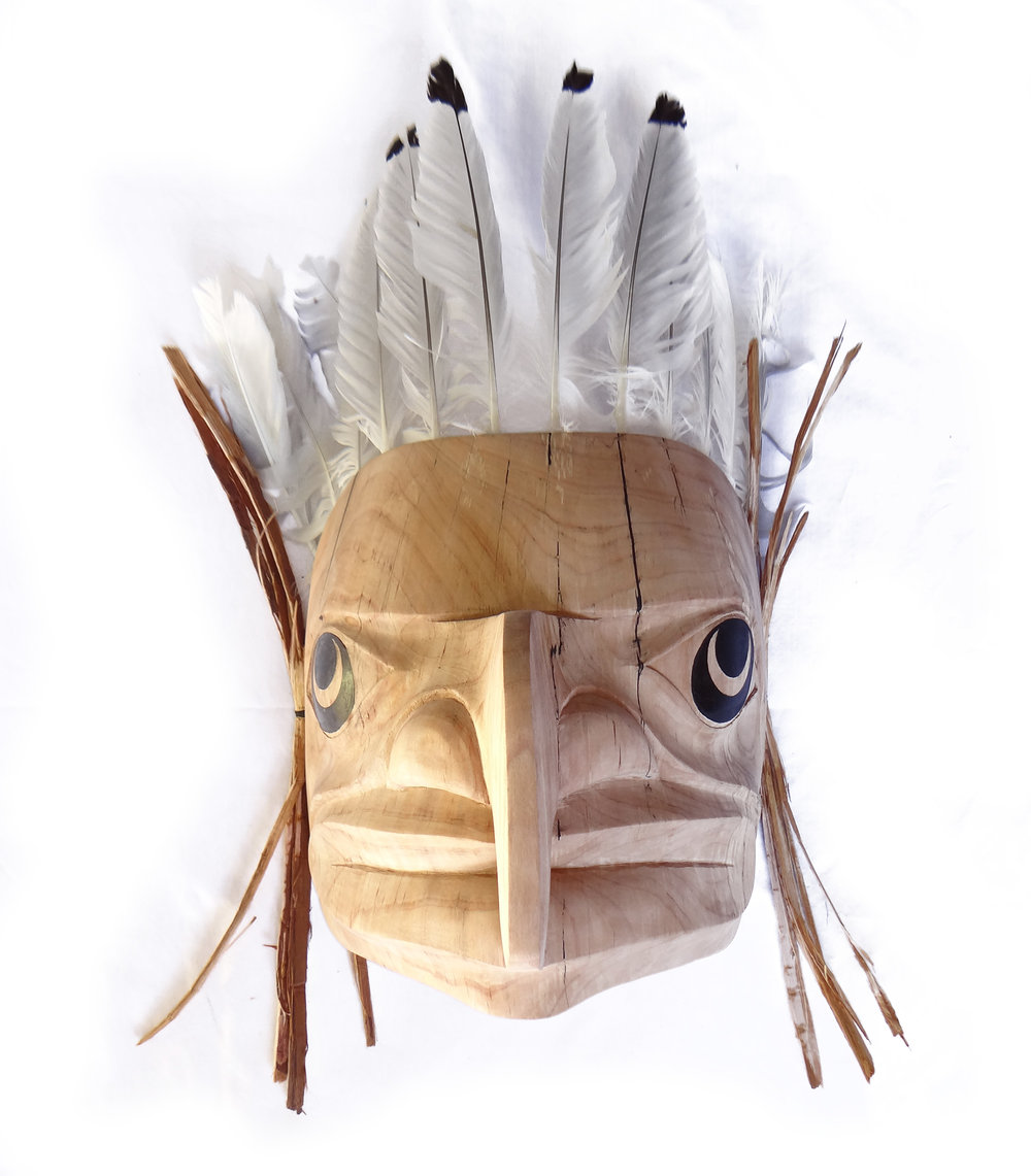 Hawk Mask - Alder by James Johnson