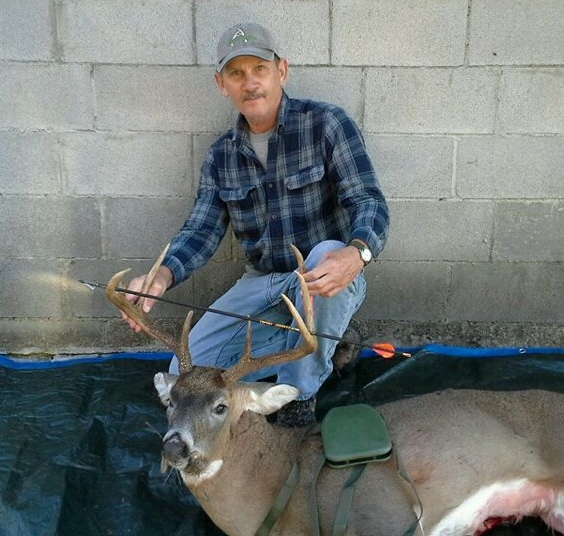 Another nice buck, congrats Dick.