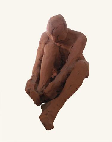 Terracotta figure study