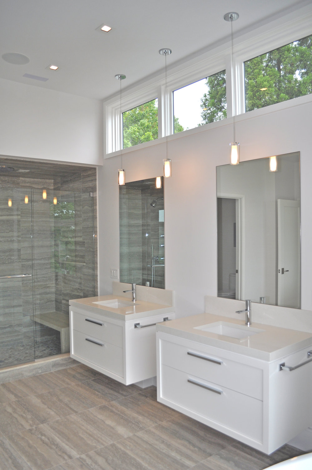Bath Design for For Milton Development with Laura Kaehler Architects and Rebecka Hekmat