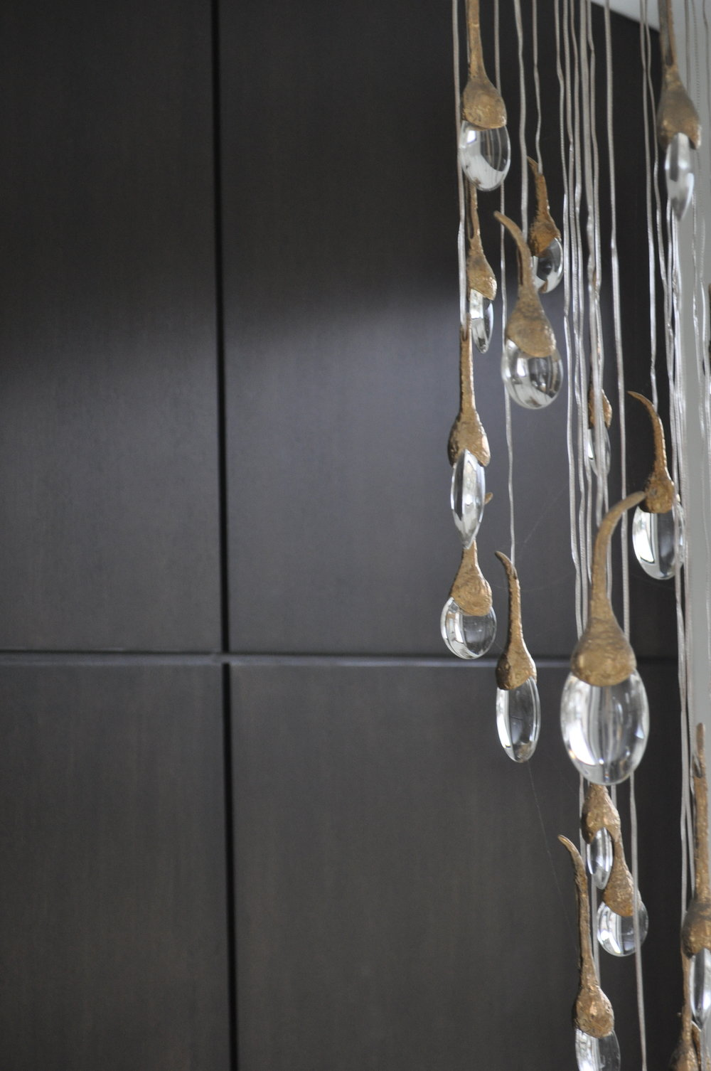 Foyer Detail- Ochre chandelier