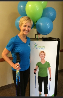 Barb Gormley is a master trainer & the director of education for Urban Poling Inc., Canada's largest manufacturer and distributor of Nordic walking poles.