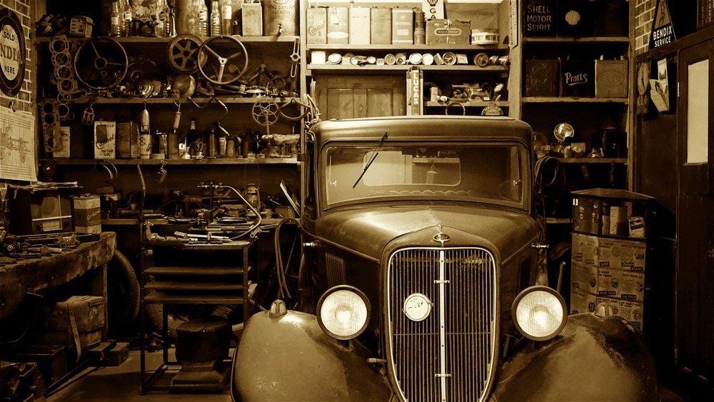Old Car in Garage.jpg