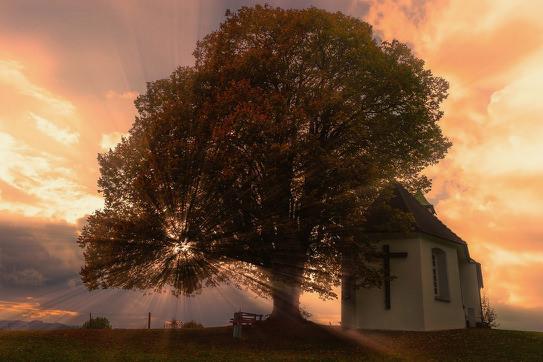 Church Sunset. - smalljpg.jpg