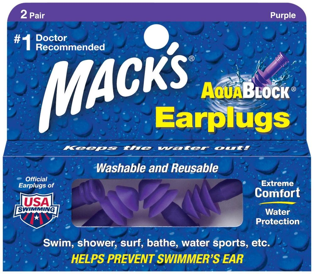 We provide the best earplugs we can find for your session!