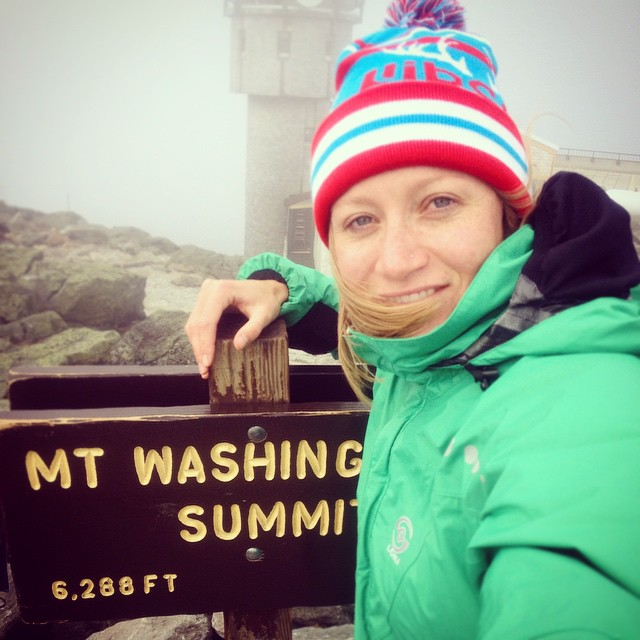 Hit up Mt. Washington in New Hampshire...