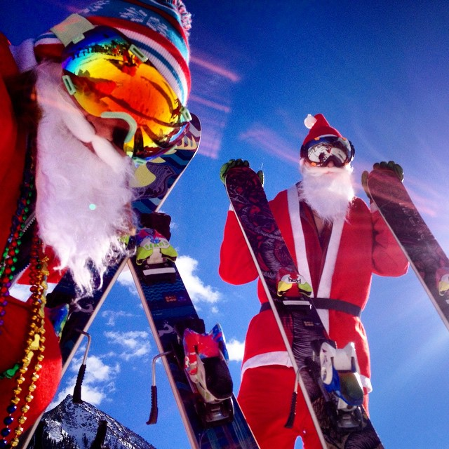 The Phoenix Polarized looks good on Santa too!