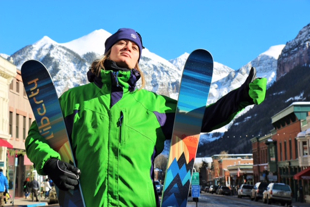Hitchin' with my Origin's during a Loki Gear photo shoot in Telluride, CO.