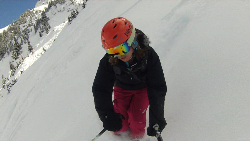 Liberty Skis Origin in Telluride's Black Iron Bowl