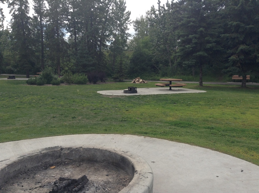 With picnic tables and fire pits, Lion's Park is the perfect place for getting together!