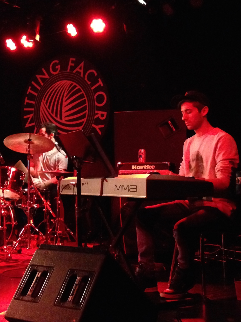 Show at The Knitting Factory with Nikki Tino, NYC