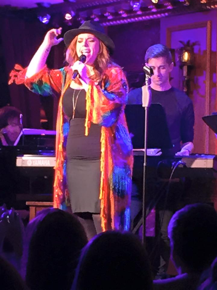Alysha Umphress in Broadway Sings Amy Winehouse, 54 Below, NYC