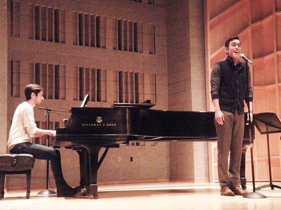 "Performing ""Goodbye Pretend"" with Nathan Chang, song co-written for Toddlers & Tiaras the musical, NYC"