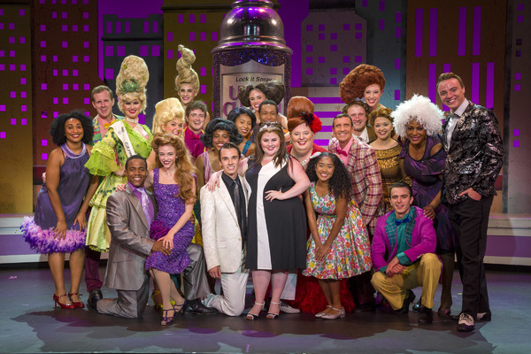 The Cast of Hairspray at The Argyle Theatre in Babylon