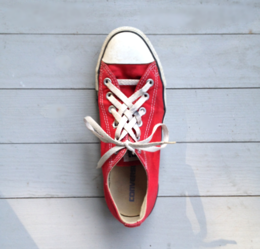 check out 75df0 b4048 Lattice-Lacing Chuck Taylors  A Simple DIY Tutorial on Tying Your Shoes +  Making Time for What You Love — Melanie Falick