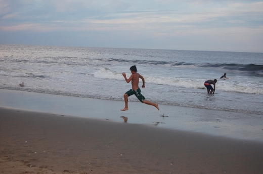 Running on beach.JPG