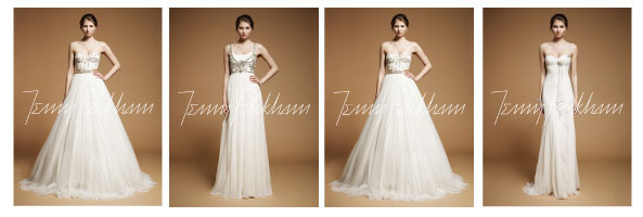 Jenny Packham 2012 bridal collection in Denver