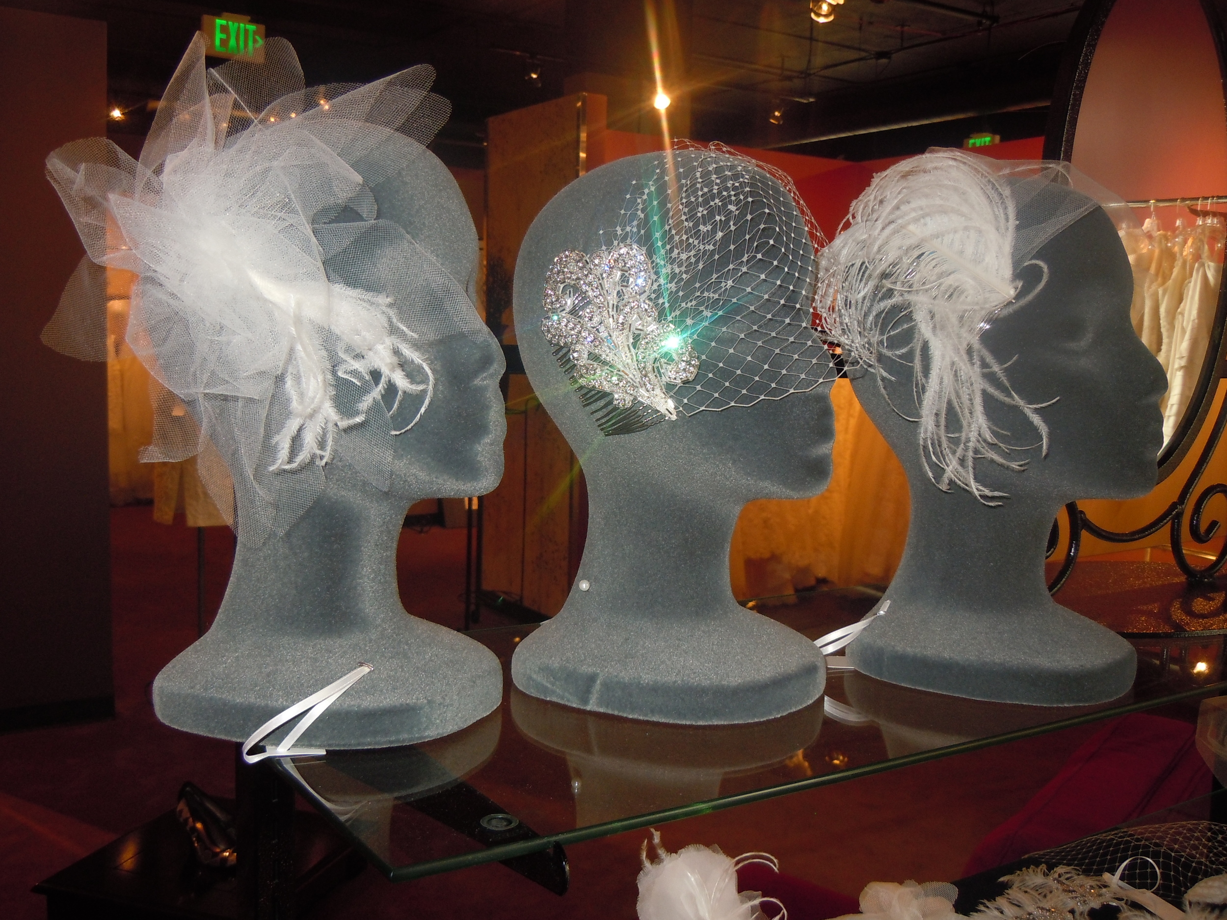 Bridal veils made in Colorado by Love Veils