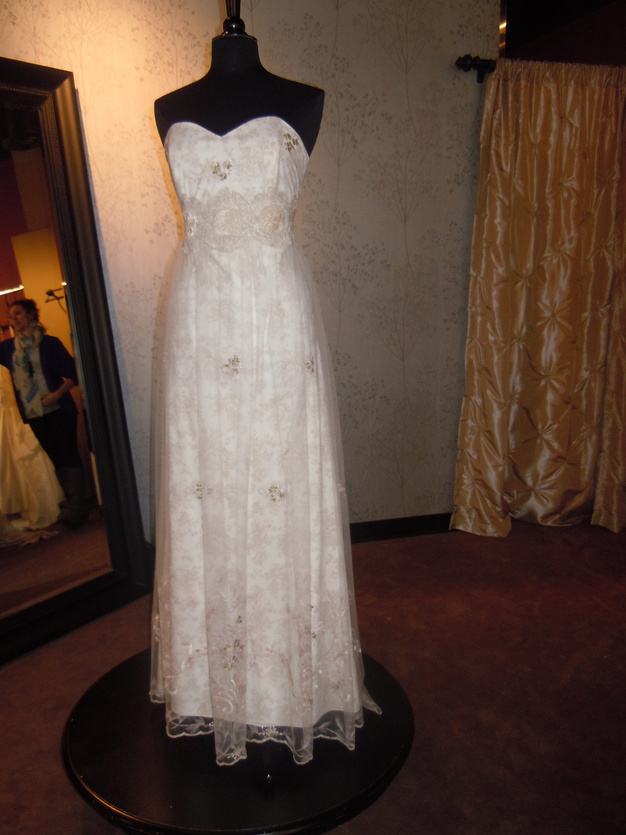 Claire Pettibone Fleur de Jour bridal gown