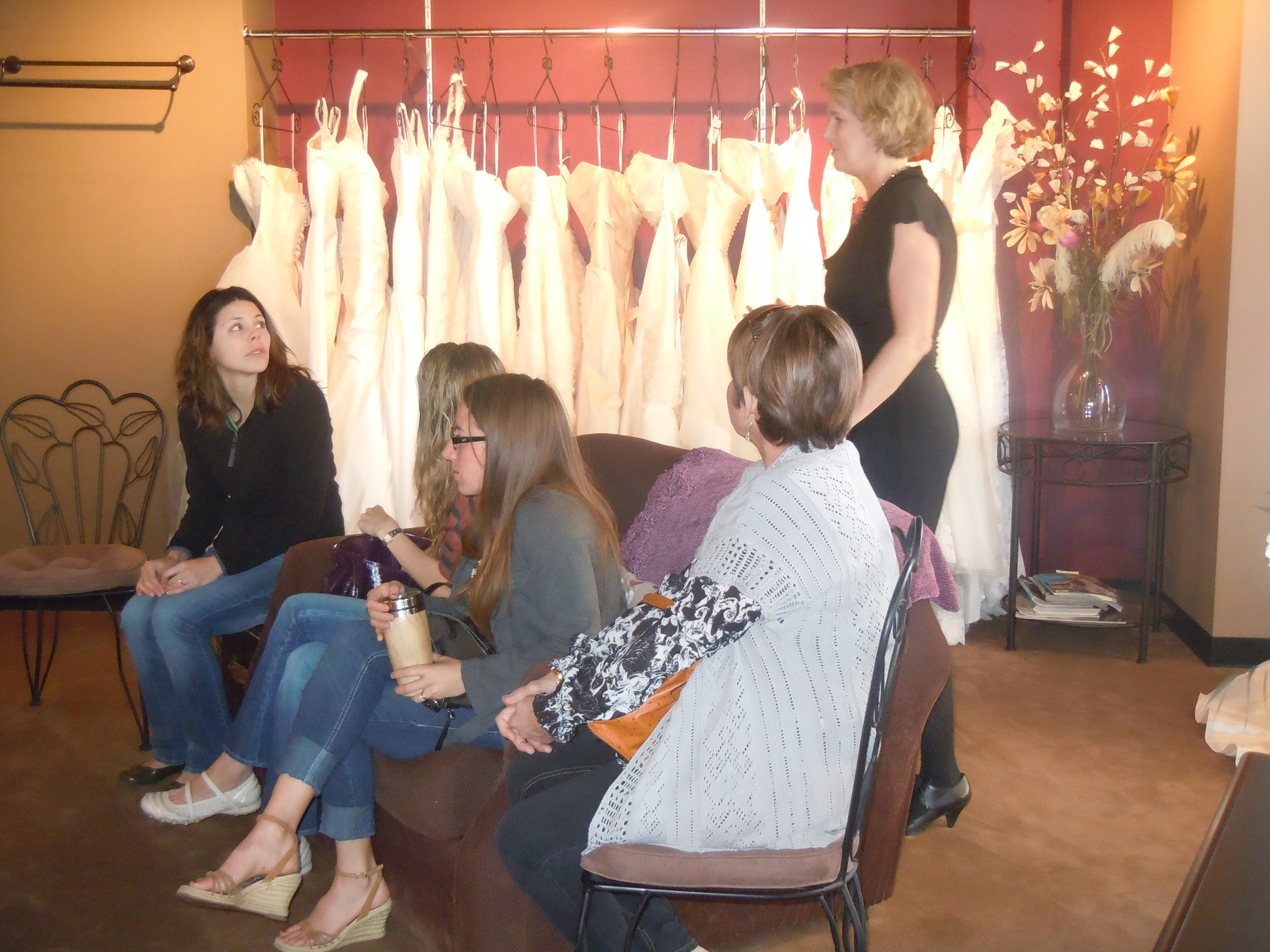 Hitched in the Highlands winner at Little White Dress Bridal Shop in Denver