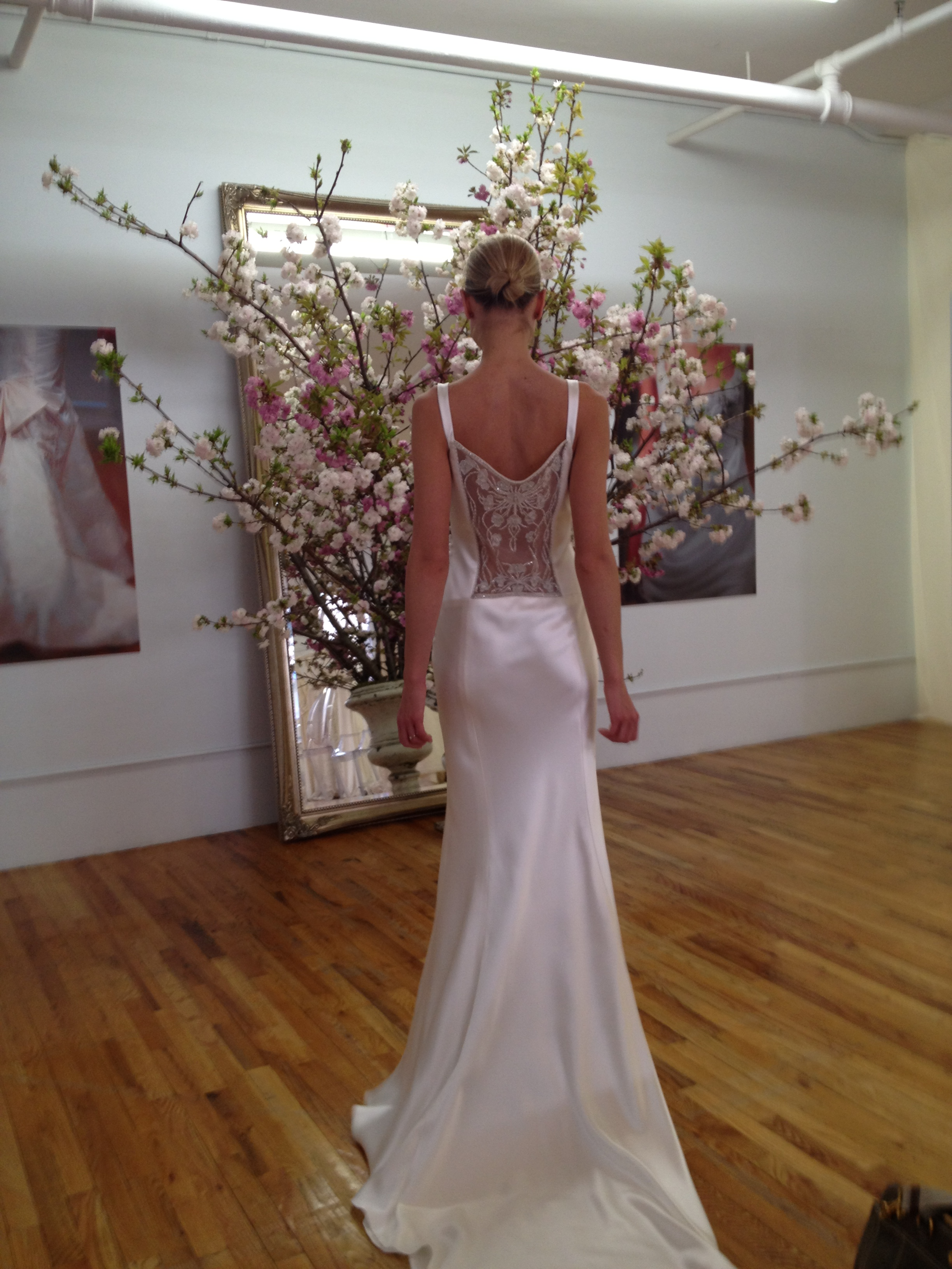 Elizabeth Fillmore wedding dress - Deco