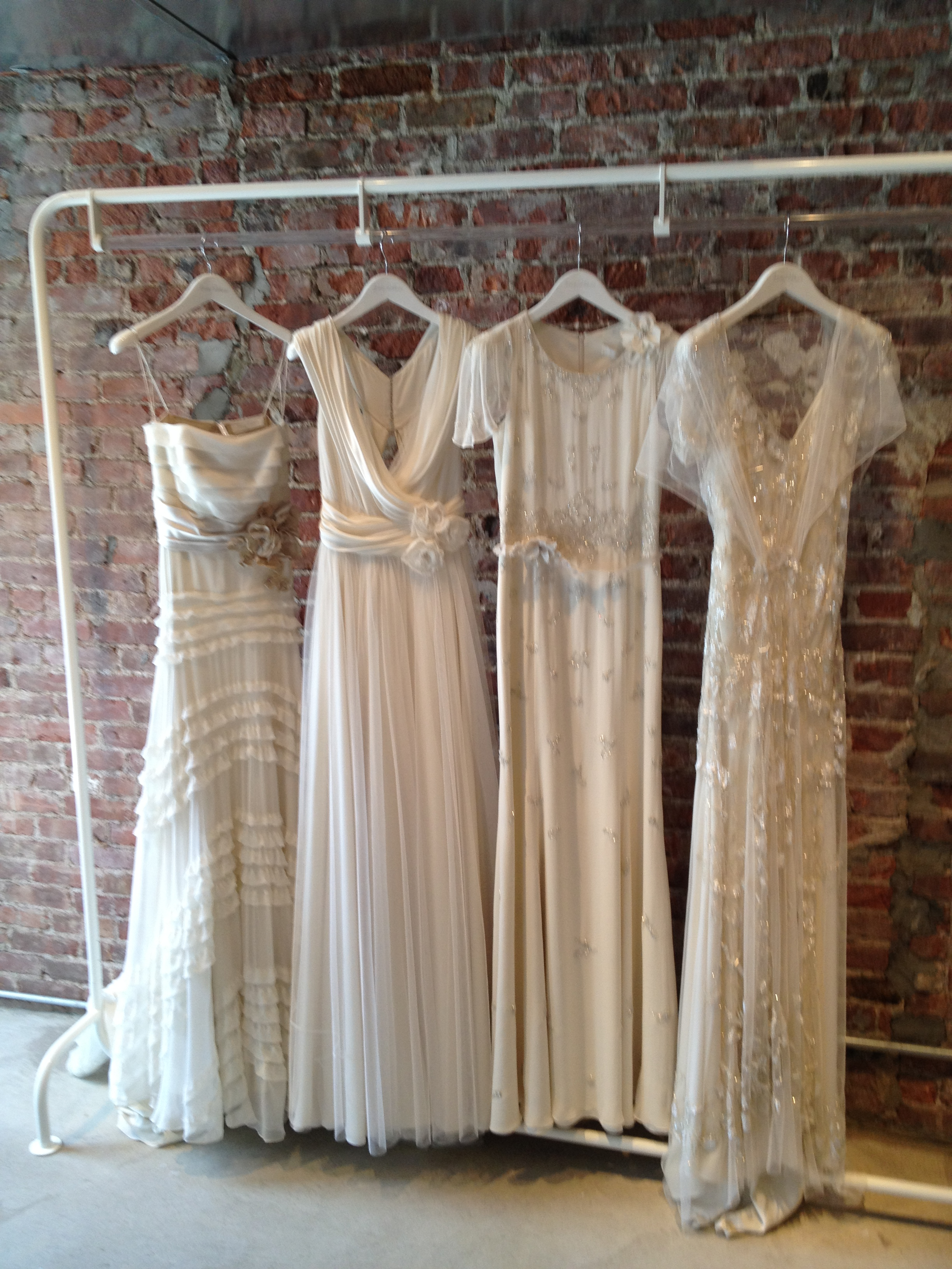 Jenny Packham - our four new wedding gowns