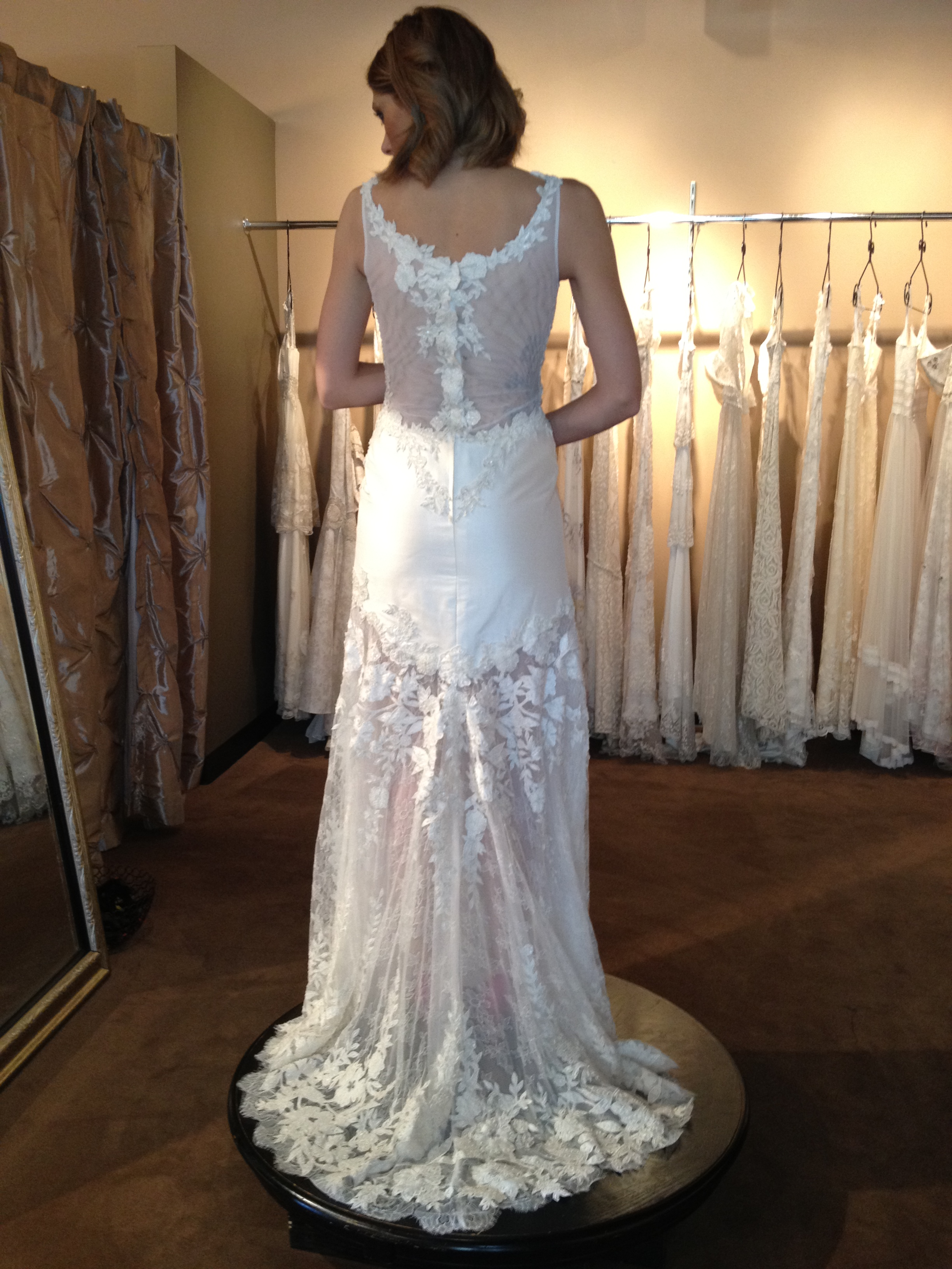 St. Pucchi Couture - style #9348 back