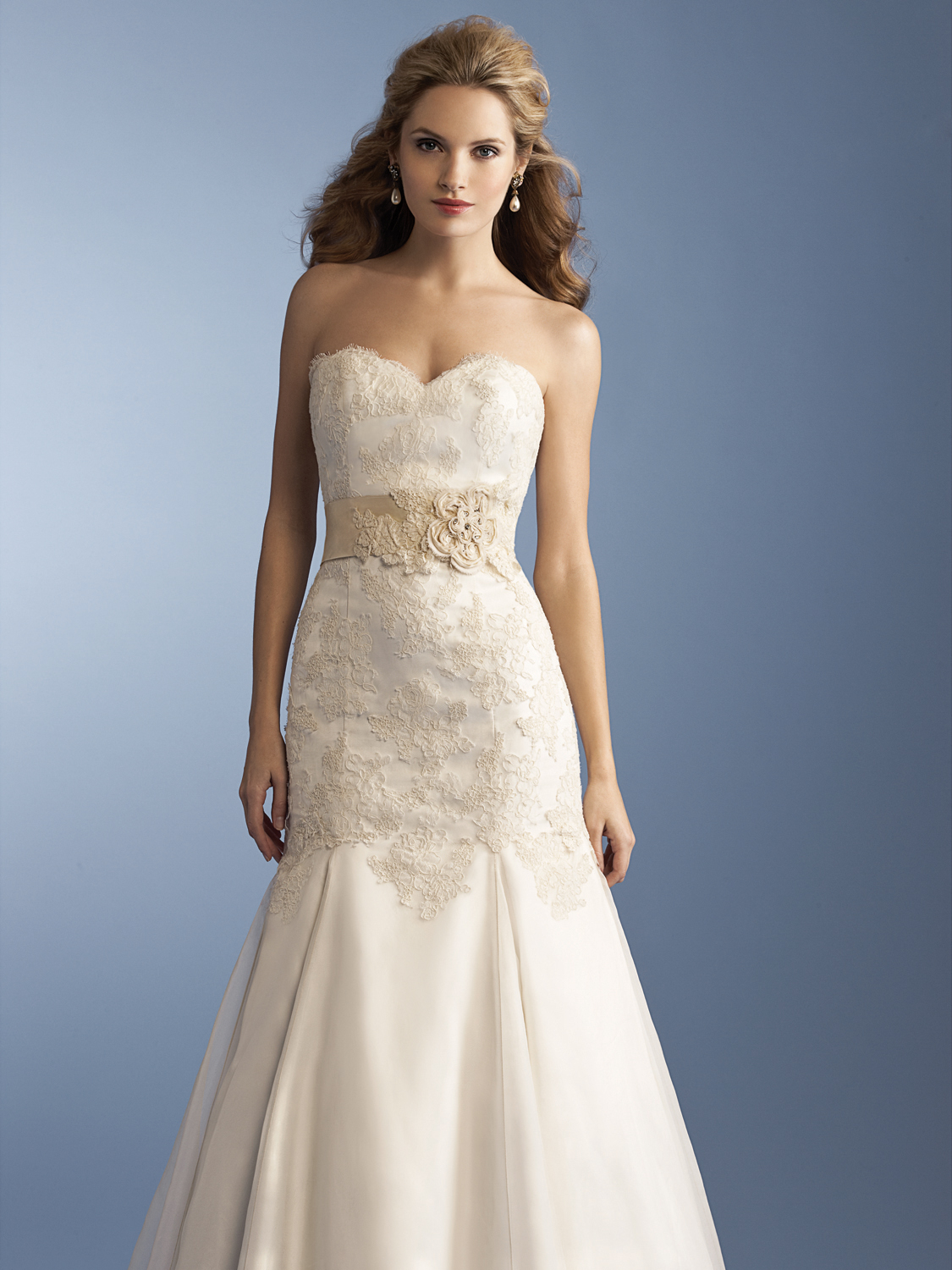 Anne Barge Hayley wedding dress