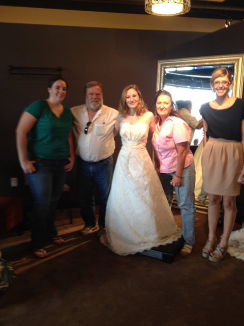 Mariah - winning bride from June 2012 sweeps