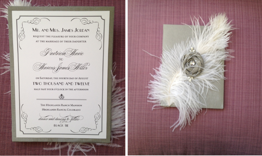 Invitations by Julie Sandusky, JS Custom Designs