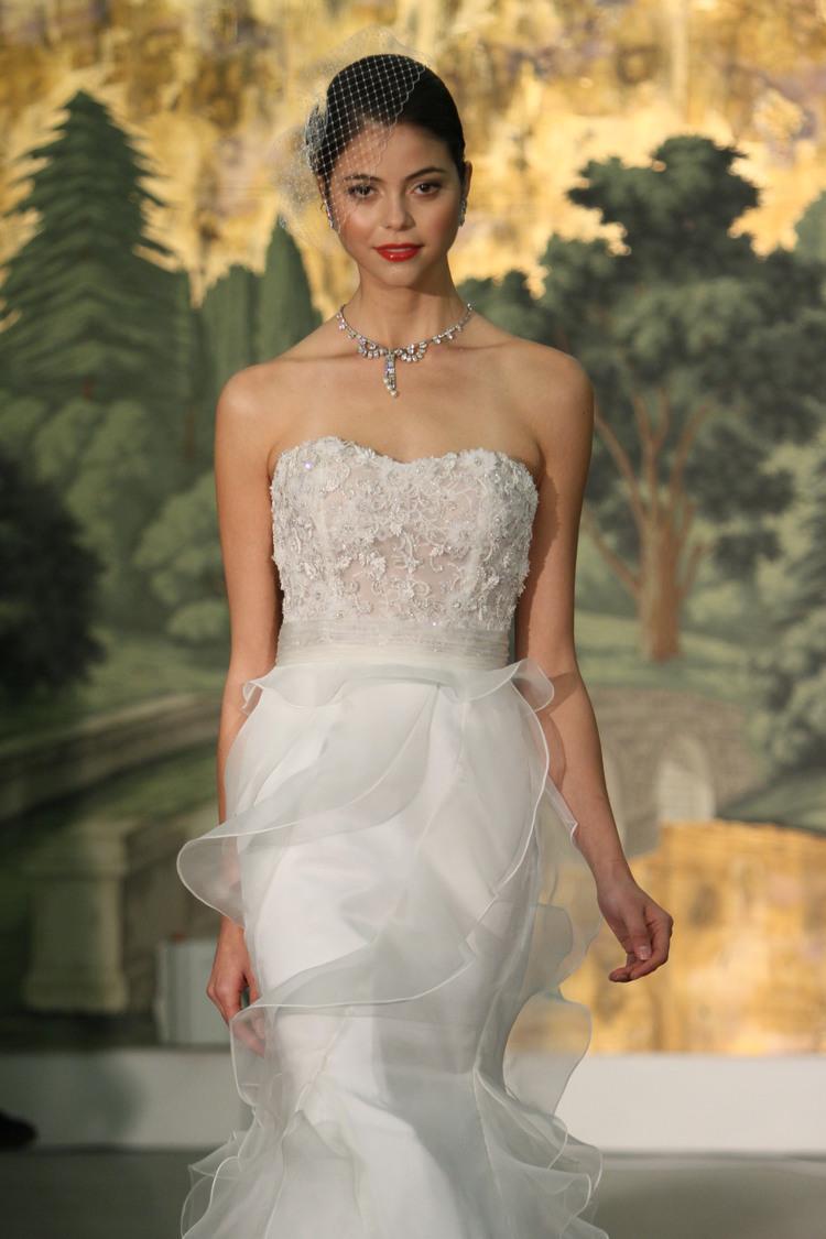 e2aadf3845b Fashion Report  April Bridal Fashion Week — Little White Dress ...