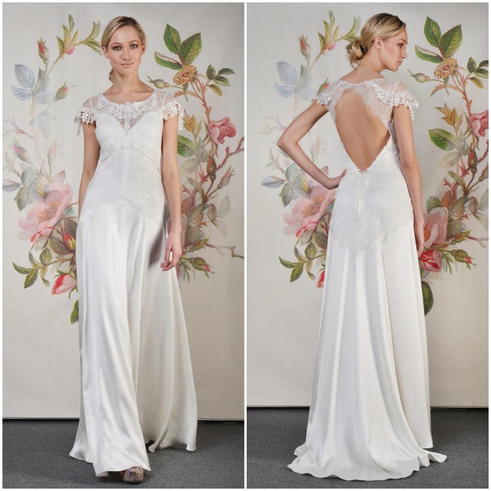 Wren bridal gown Claire Pettibone Decoupage