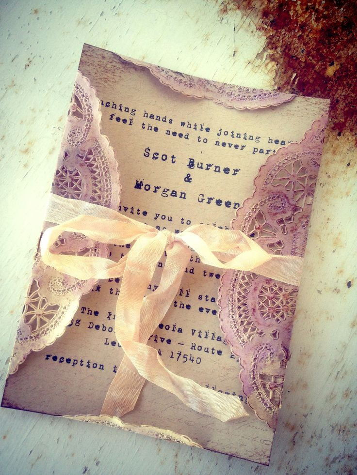 The prettiest invitations ever