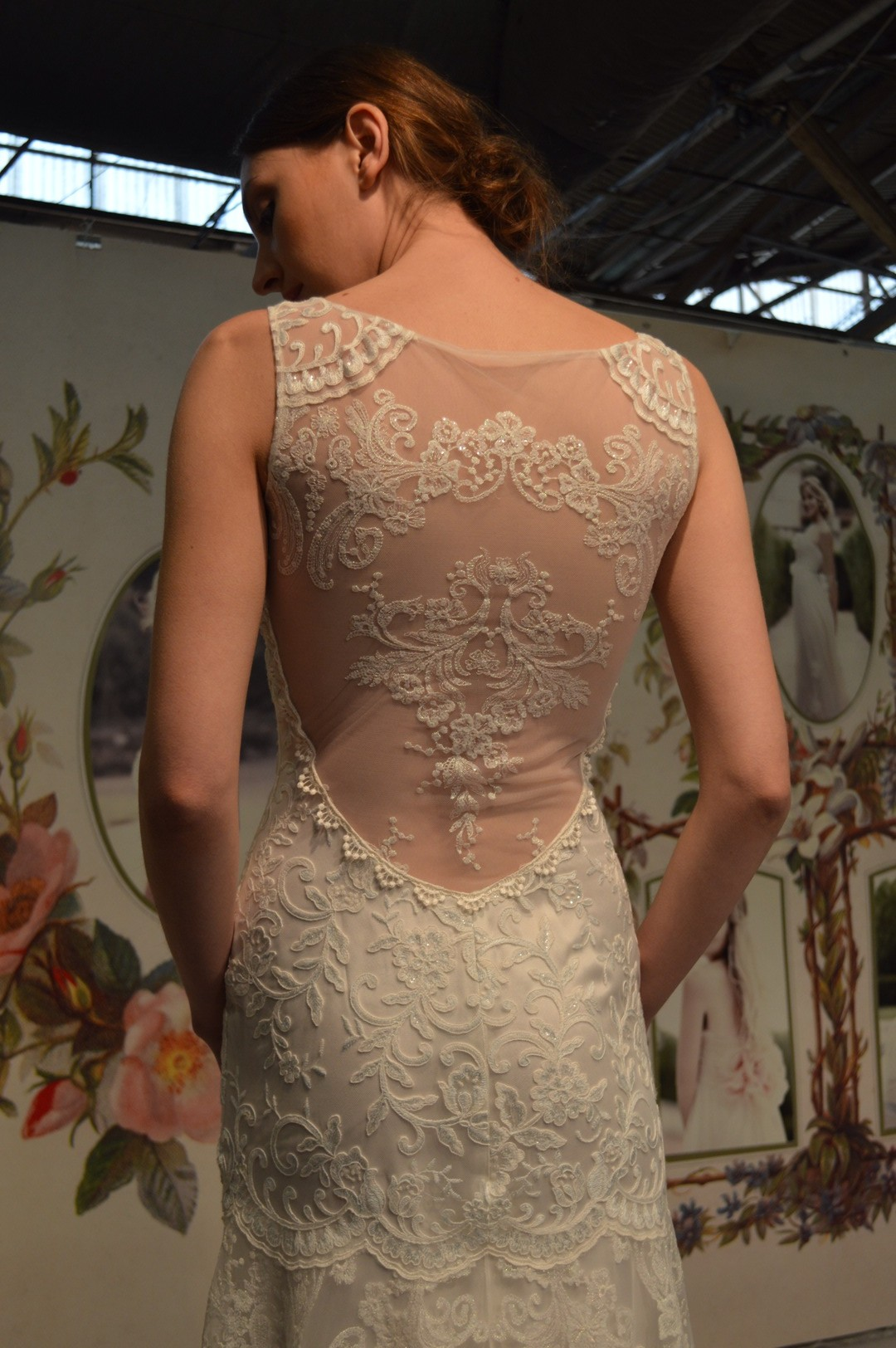 One of our new Claire Pettibone gowns! We can't wait to show you the rest!