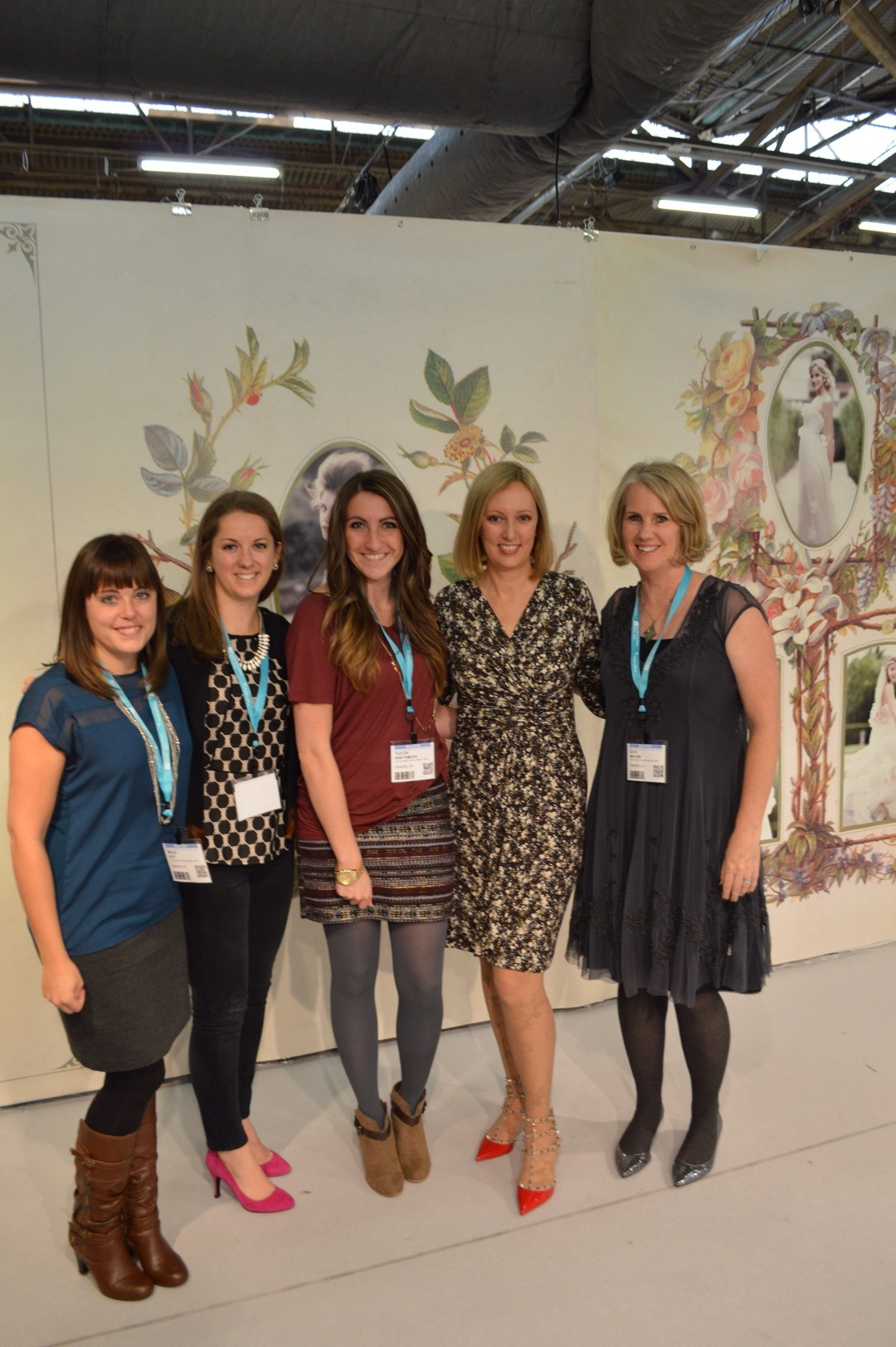 The LWD ladies with Claire Pettibone after she showed us each and every gown from her new collection.