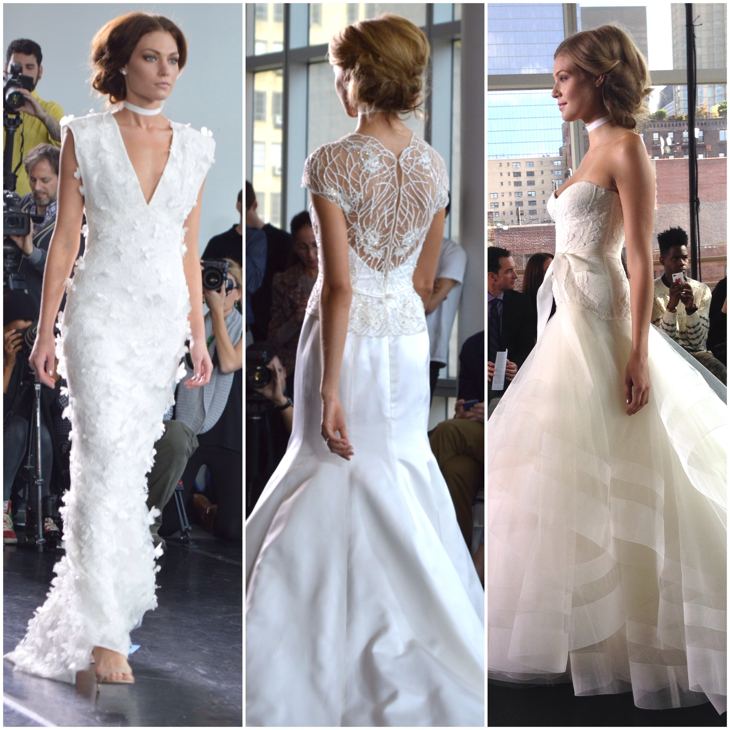 The GORGEOUS Rivini show. Always one of the best venues of Bridal Market, and the gowns were just beautiful.