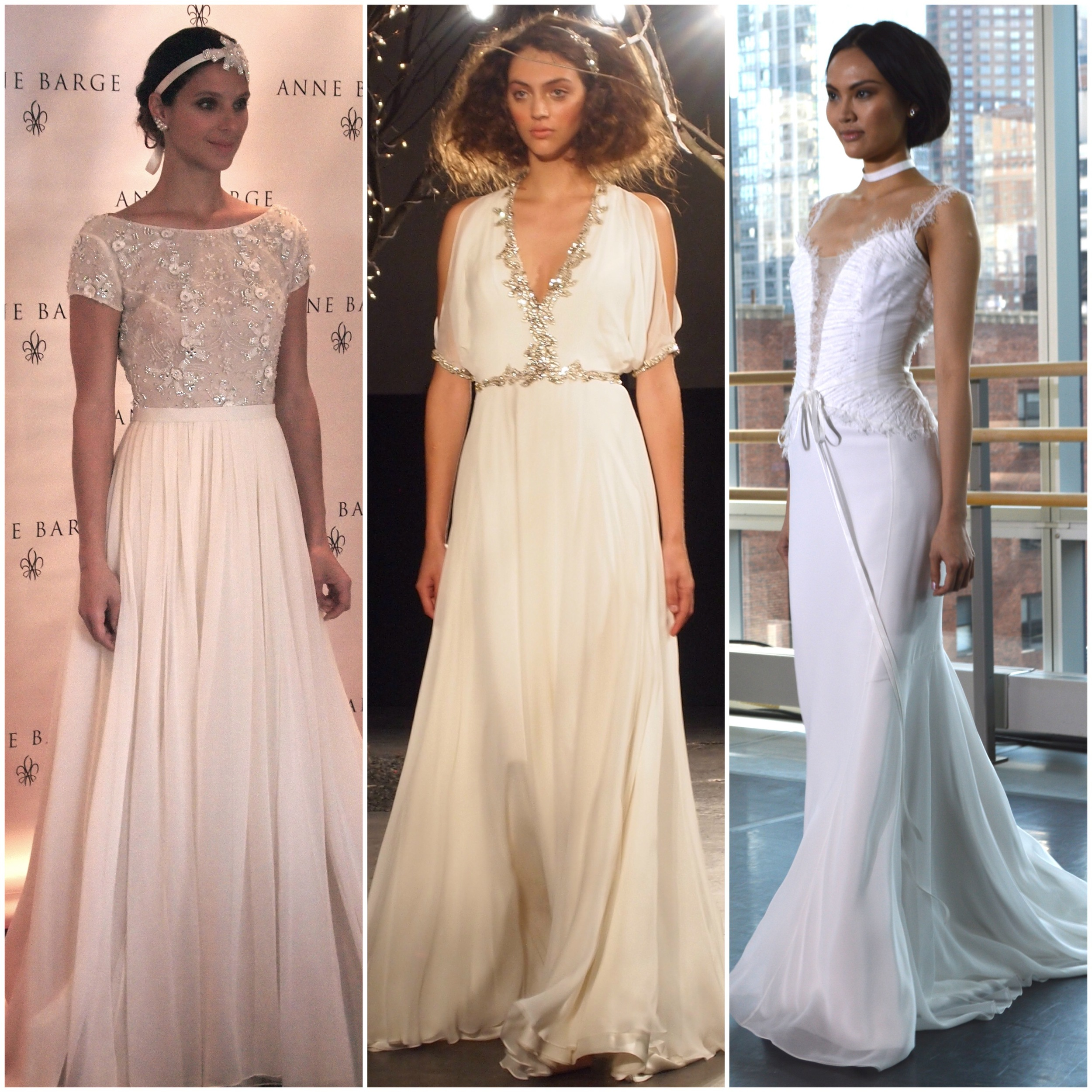 Left to Right: Anne Barge, Jenny Packham, Rivini