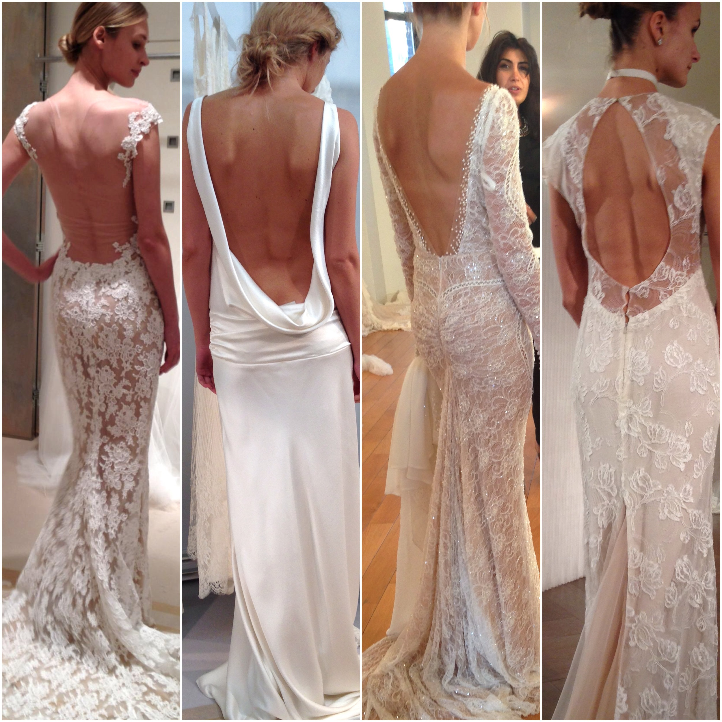 Left to Right: Reem Acra, Charlie Brear, Inbal Dror, Rivini.