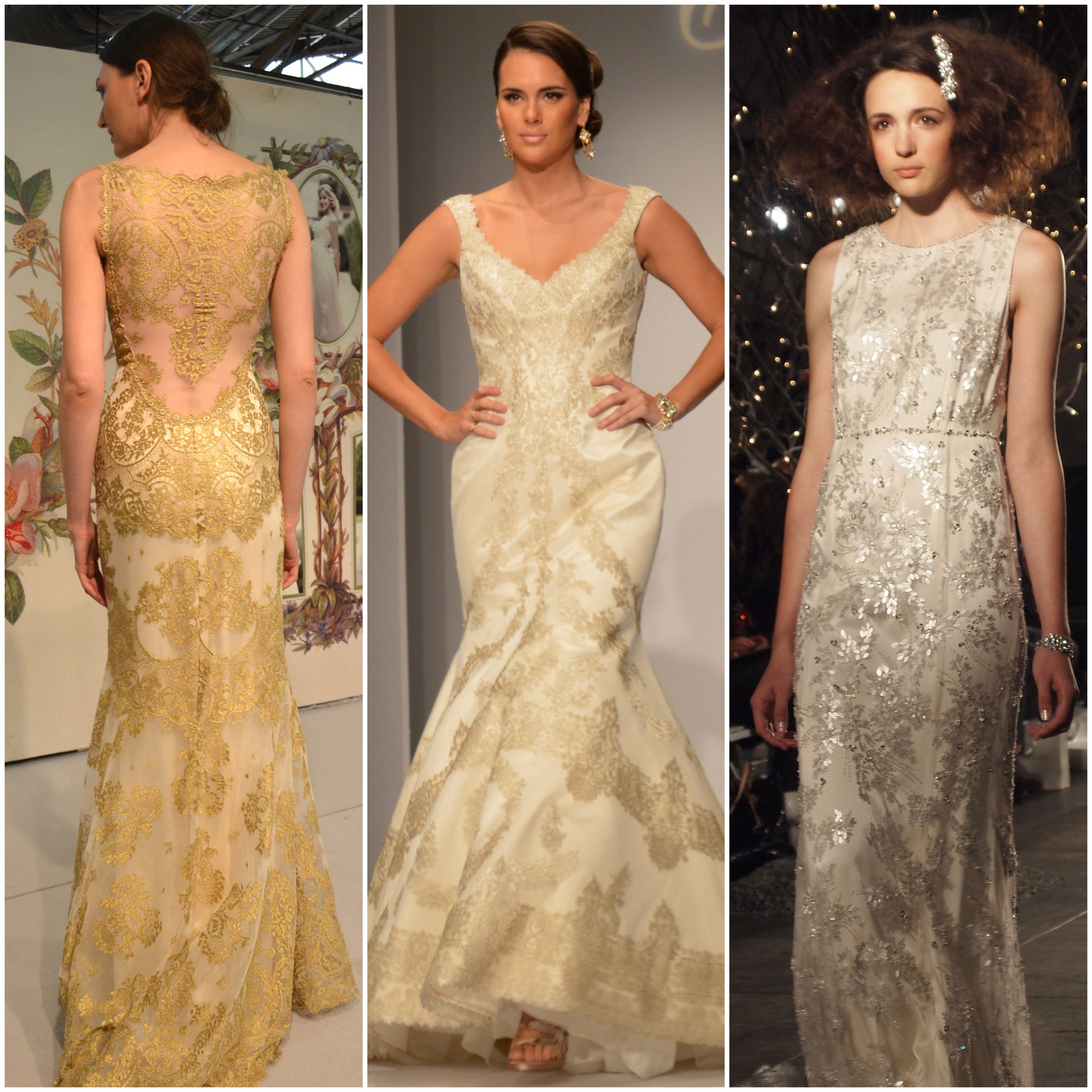 Left to Right: Claire Pettibone, Matthew Christopher, Jenny Packham