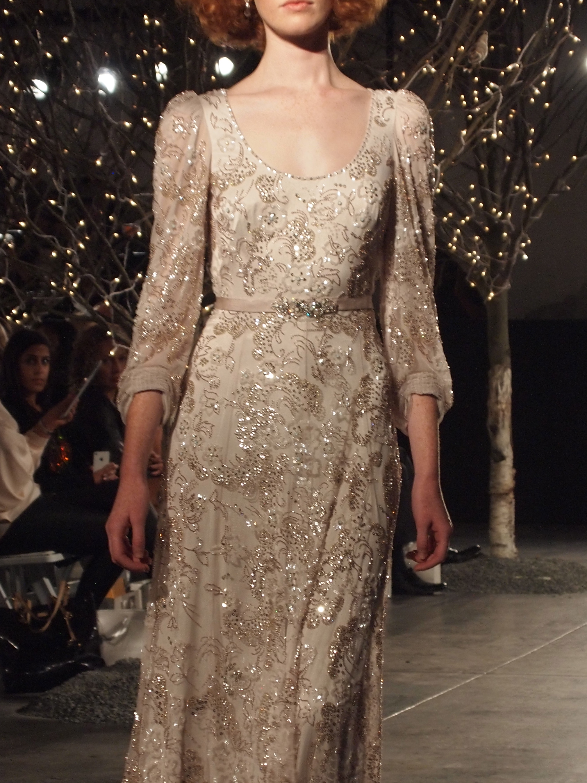 Bridal Fashion Week Jenny Packham Runway Show Little