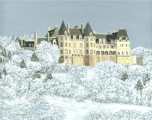 The Biltmore Estate in Winter