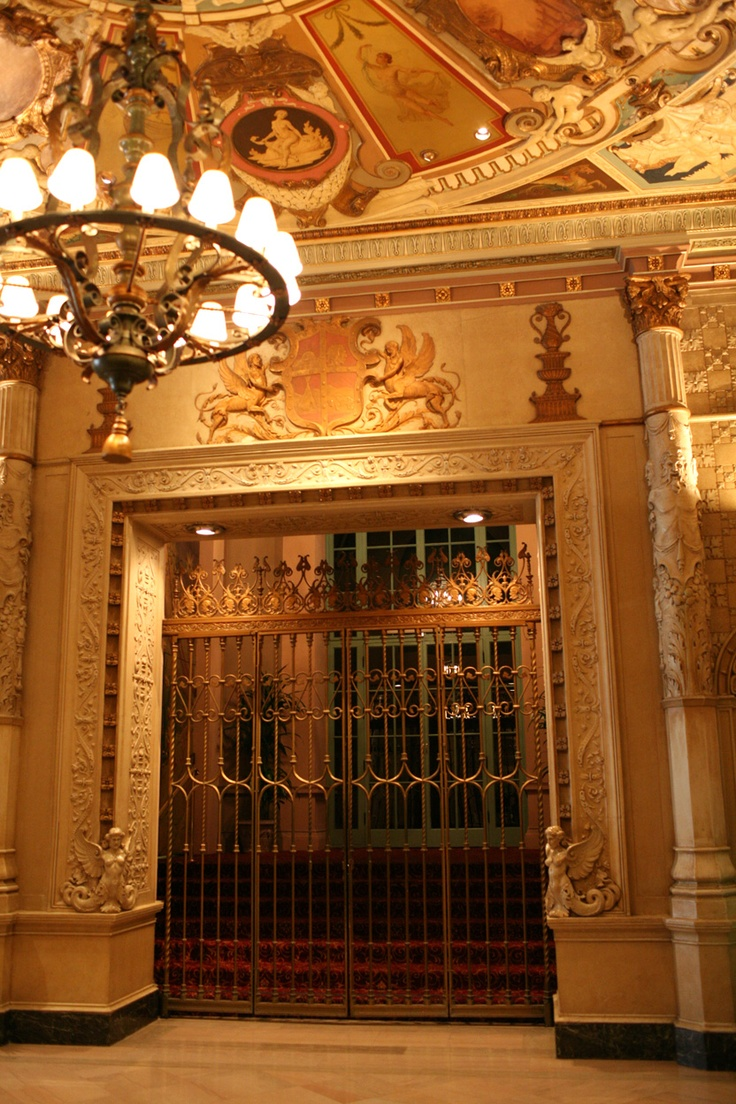 Gates to the Gold Room at the Biltmore