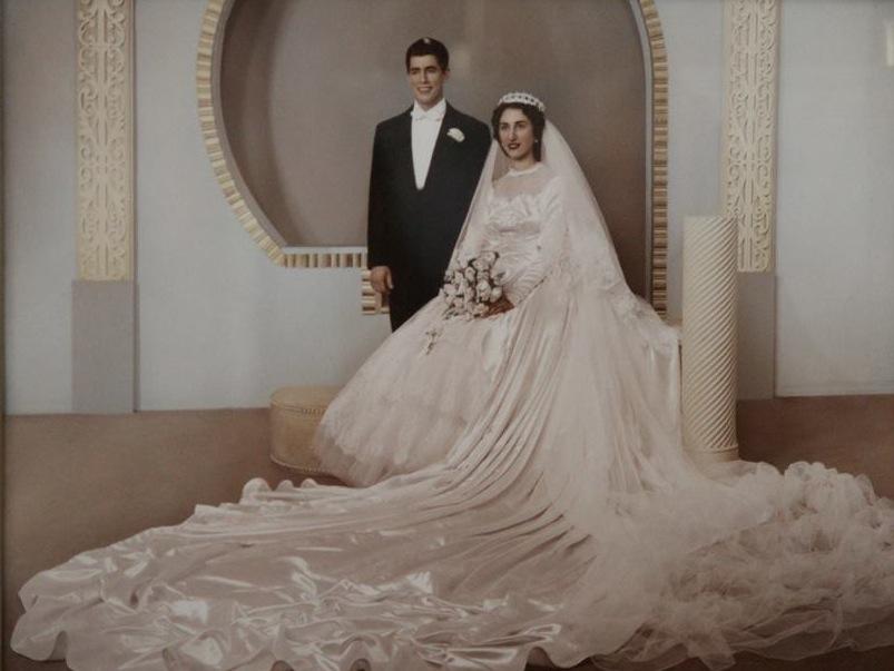 Talia Grandparents Wedding